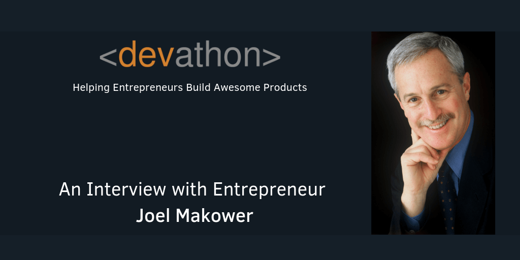 An Interview with Entrepreneur Joel Makower