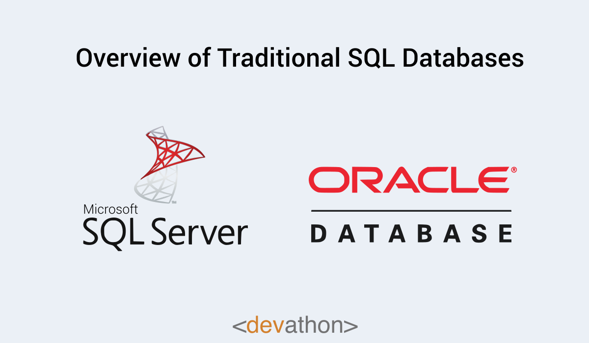 Traditional-database