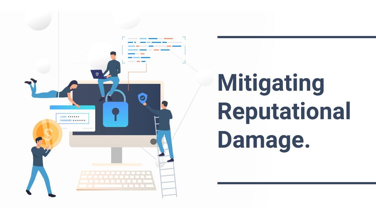 Mitigating reputational damage